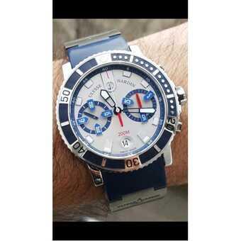 Часы Ulysse Nardin Men's Maxi Marine Diver Chronometer